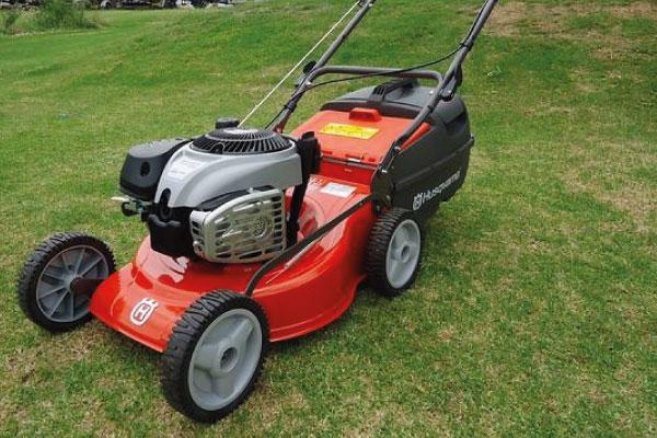 Lawn mower & lawn mowing